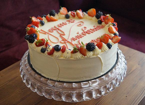 Nude cake fruité 20 parts