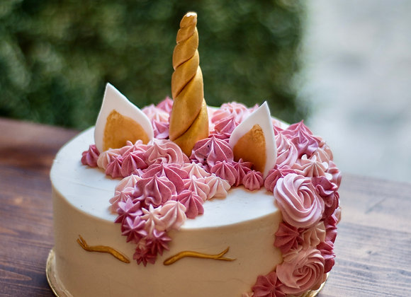 Licorne cake 10 parts