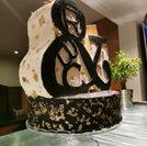 Nude cake sculptée