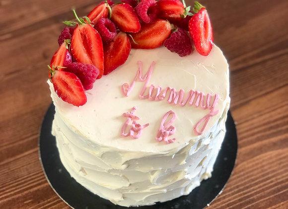 Nude cake fruité 10 parts