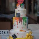 Patisserie cake design