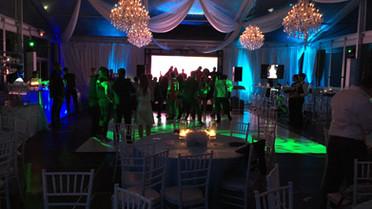 Glass Pavilion - Moving Lights.JPG