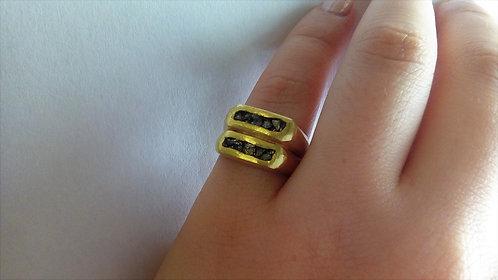 טבעת פיריט 2 שורות