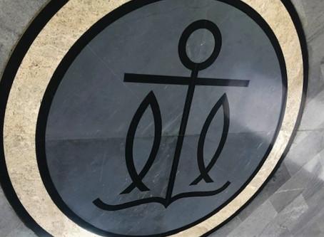 שני קווים יוצרים סמל בעל משמעות