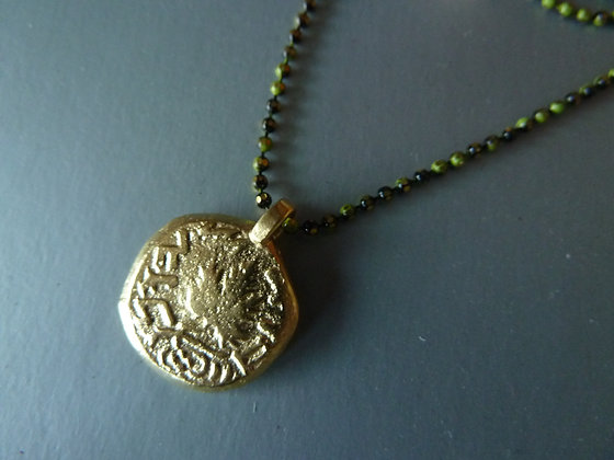Agrippa coin necklace
