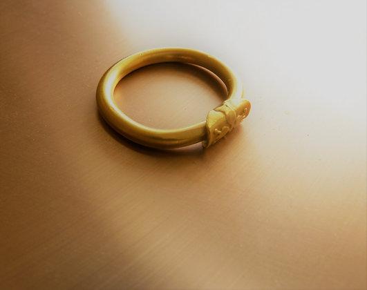 Pomegranate symbol ring