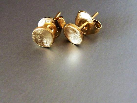 עגילי זהב צמודי אוזן