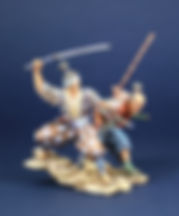 Samurai with naginata 10.JPG