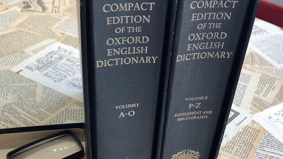 The Compact Edition of the Oxford English Dictionary, 1975