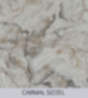 Aggranite Quartz - Carmal Sizzel Quartz.