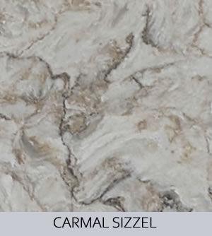 Aggranite Quartz - Carmal Sizzel Quartz.