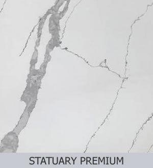 Aggranite Quartz - Statuary Premium 300.