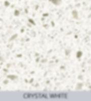 Aggranite Quartz - Crystal White Quartz.