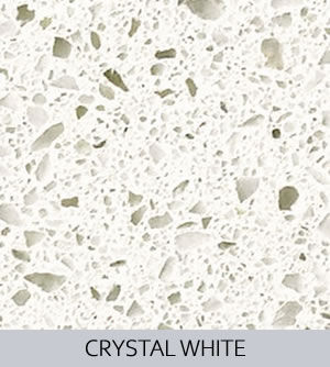 Aggranite Quartz - Crystal White Quartz.