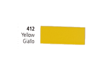 Vinil Colorido Ritrama Mark O 412 Yellow