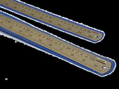 Régua de Aço Inoxidável 60 e 100 cm