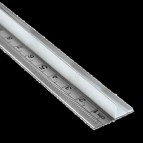 Régua de Aço Inoxidável 100 cm Com Proteção 50-8000
