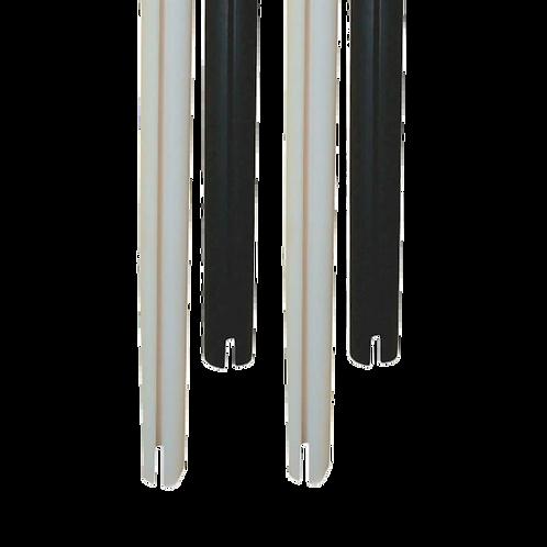 Perfil C tubo 3 metro