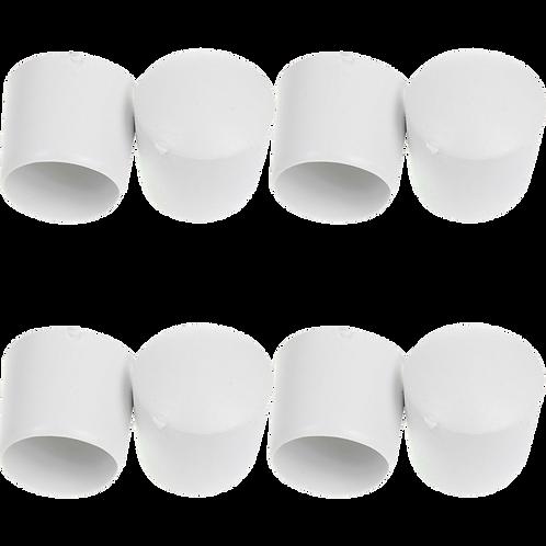 Ponteira Plástica 19 mm Branco