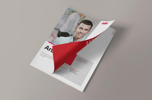Kunde: ABB STRIEBEL & JOHN, Sasbach   Sämtliche Printprojekte pflegen und aktualisieren unter Verwendung des bestehenden Corporate Designs der ABB-Gruppe Projekt: Arbeitsbuch für Schulungszwecke Gedruckt und als PDF