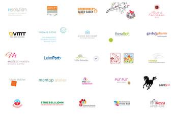 Beispiele für Logos und Wortbildmarken