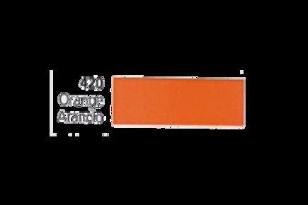 Vinil Colorido Ritrama Mark O 420 Orange