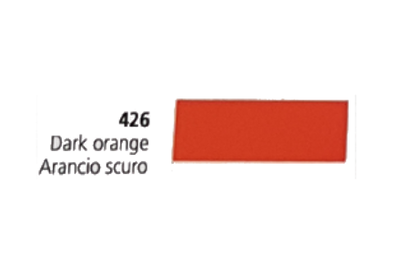 Vinil Colorido Ritrama Mark O 426 Dark Orange