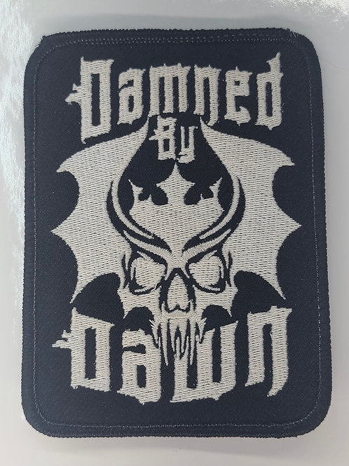 Damned by Dawn Biker Patch