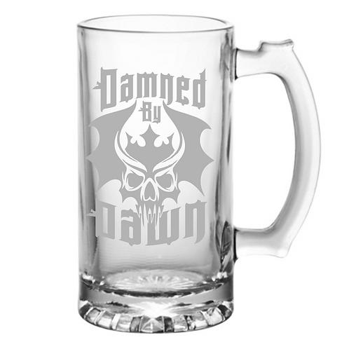 Damned by Dawn Large Beer Mug