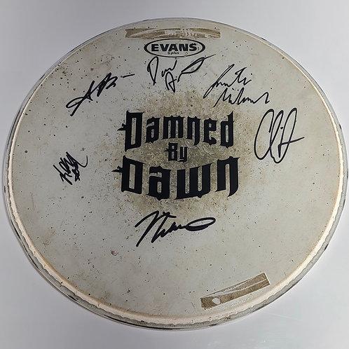 Signed DBD Drum Head