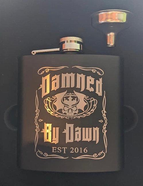 DbD Engraved Flask
