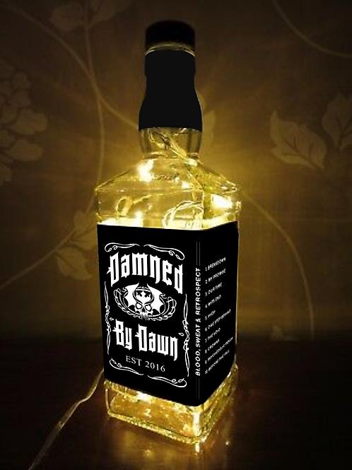 Light up Whiskey Bottle