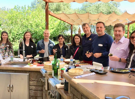 Wine Country Culinary Team Building