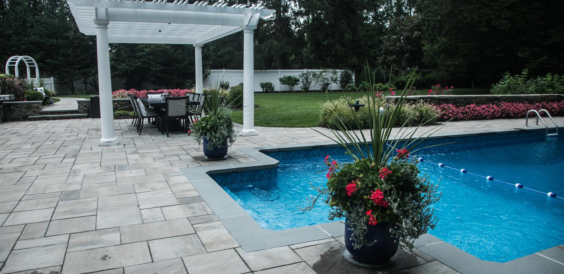 Custom pools, pavers and pergolas