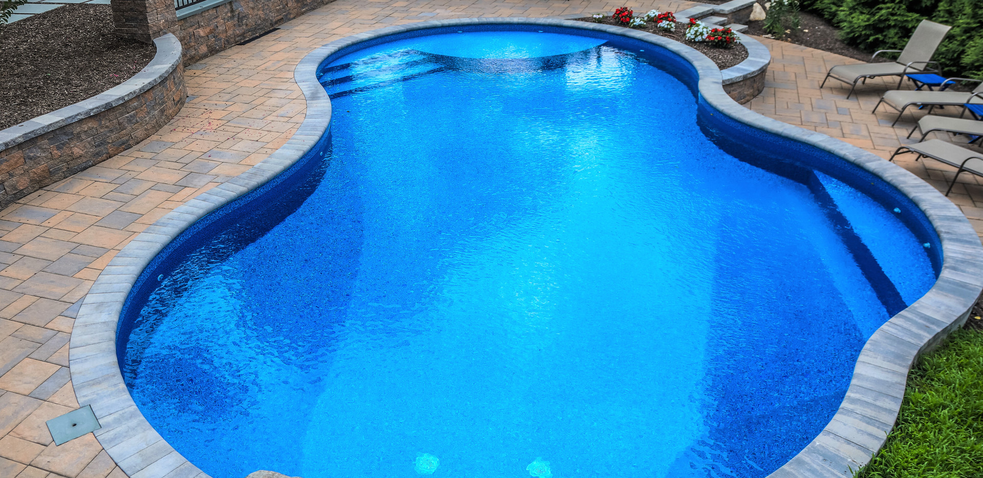 Custom pools and patios to compliment all backyard spaces