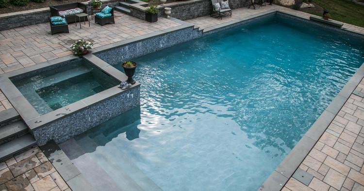 Custom pools and patios