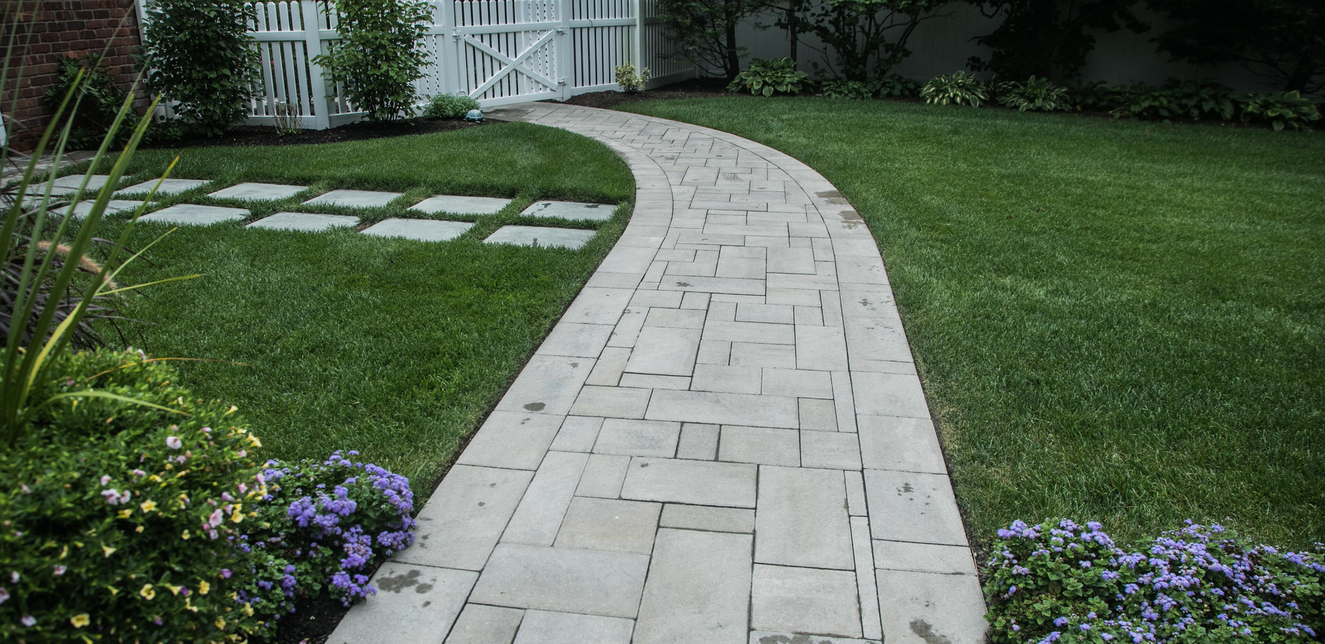 Story book walkways and arbors