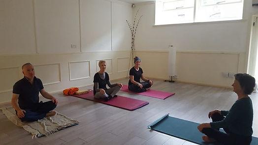 Mariana Lauson teaches at Wellness Centr