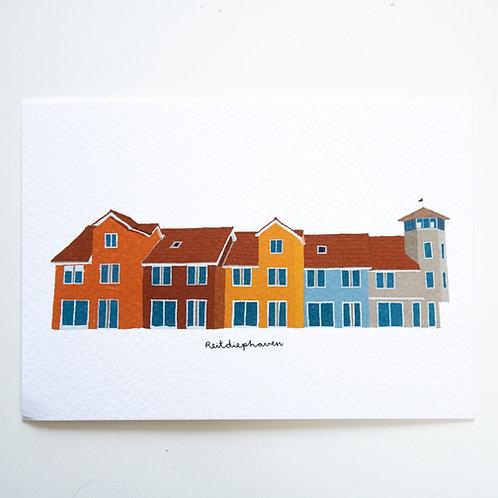 A6 Postcard Reitdiephaven