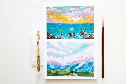 A5 Print 'Summer glow'