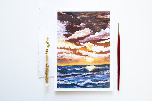 A5 Print 'Before the storm'