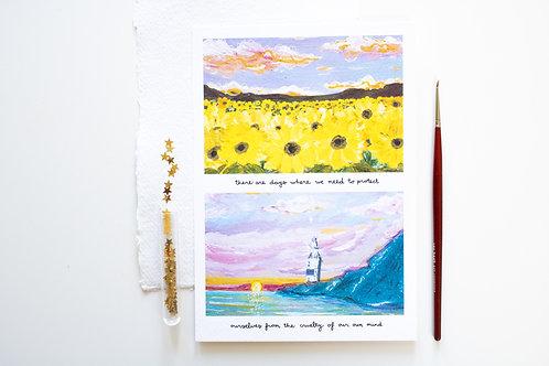 A5 Print 'Lighthouse'