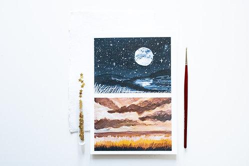 A5 Print 'Eclipse'