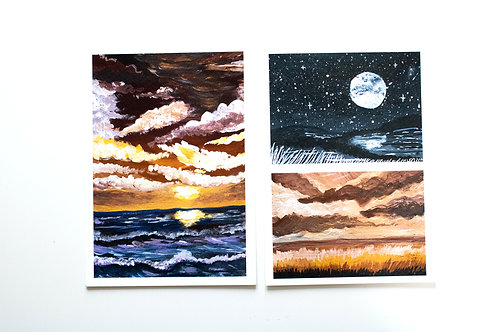 A5 Print set 4 - Before the storm