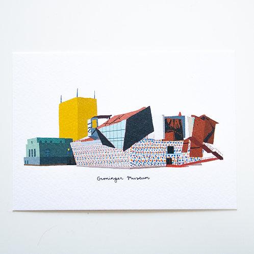 A6 Postcard Groninger Museum