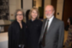 Susan Solomon, Laurie Gordon, Dr. Peter