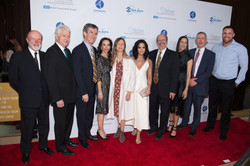 Dr. Peter Whybrow, Chancellor Gene Block, Dr. Andrew Leuchter, Vicky Goodman, Jane Semel, Demi Lovat