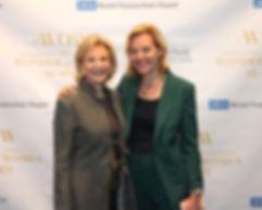 Ambassador Nancy Rubin, Dr. Kelsey Marti