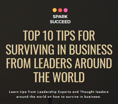 Top 10 Tips for surviving in business -