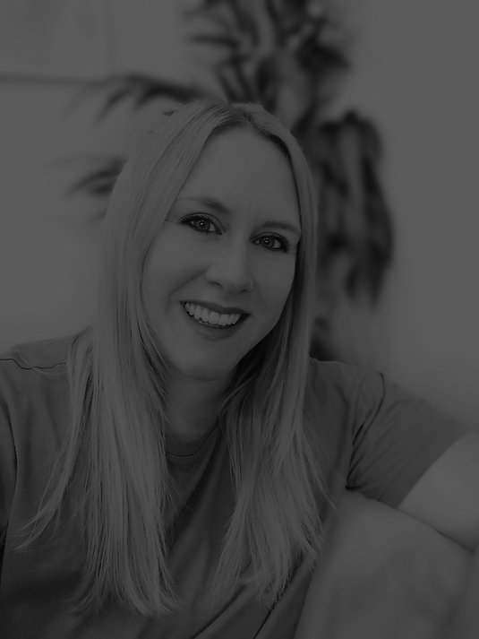 Black and white photo of Liz Hamlet, founder of Spark Succeed
